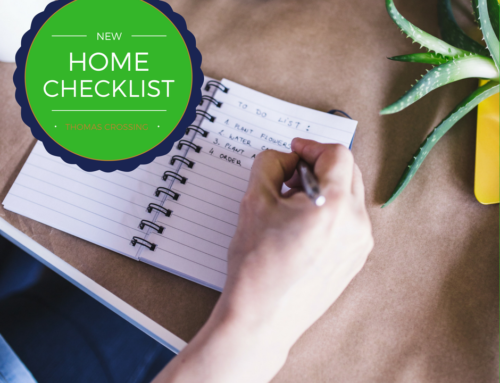 New Home Check List!